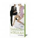 SAMSON & DELILAH Univerzálne lýtkové podkolienky 330D