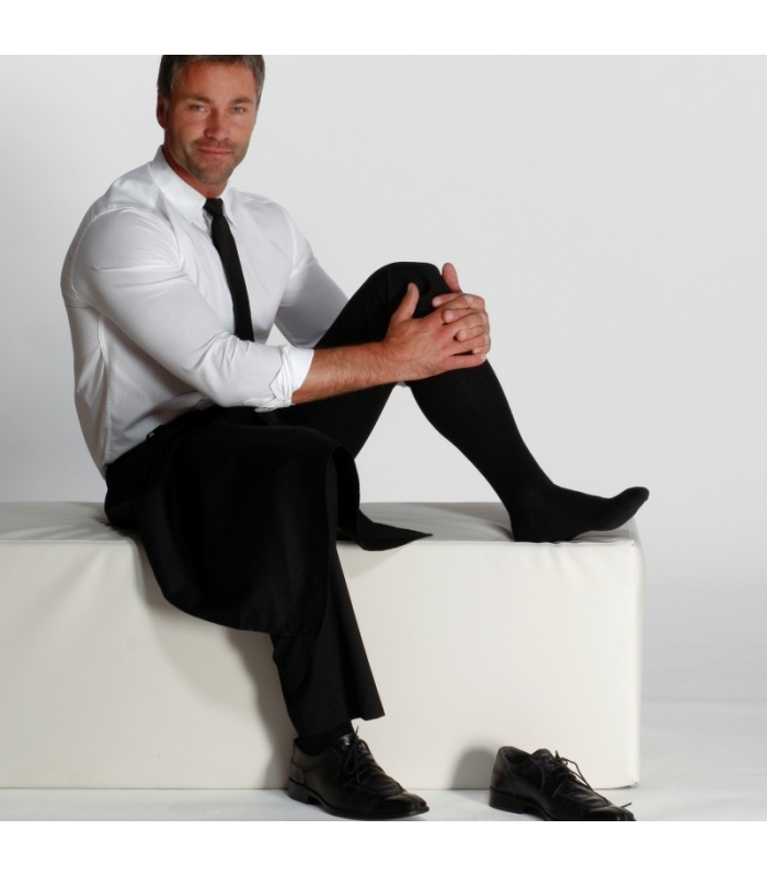 Pánske podporné lýtkové ponožky 71685e5726